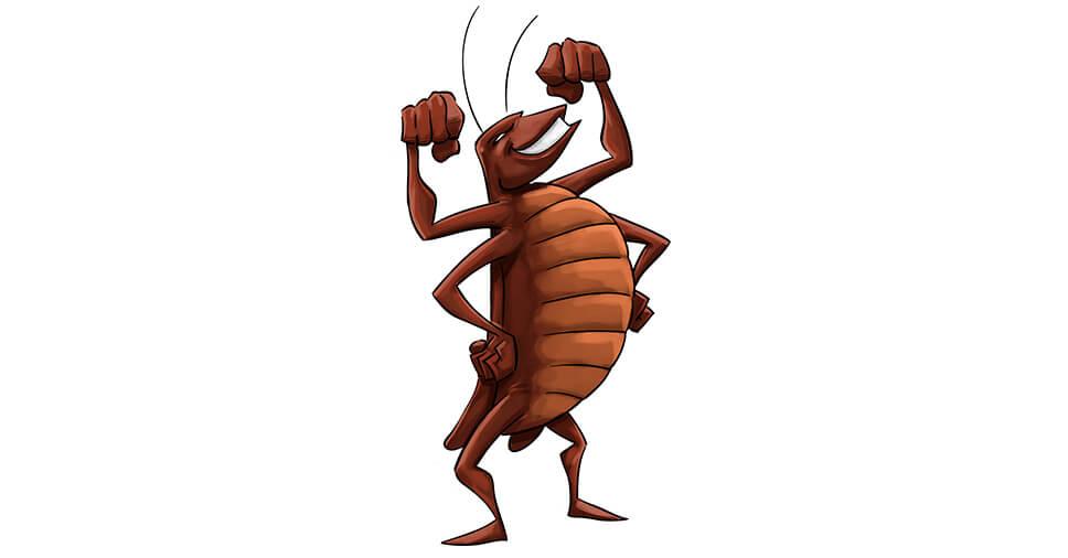 insetos mais resistentes