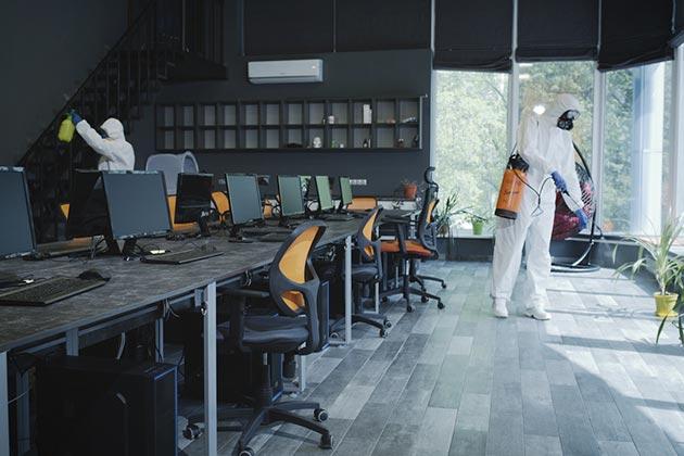 Observamos um serviço sendo realizado por uma referência em sanitização no RJ, a Insect Bye.