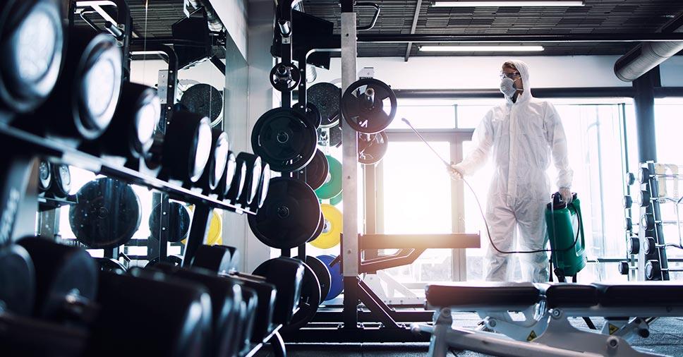 Sanitização para academias: conheça o serviço e porque contratá-lo