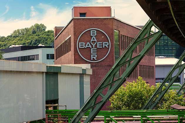 Fachada da empresa Bayer